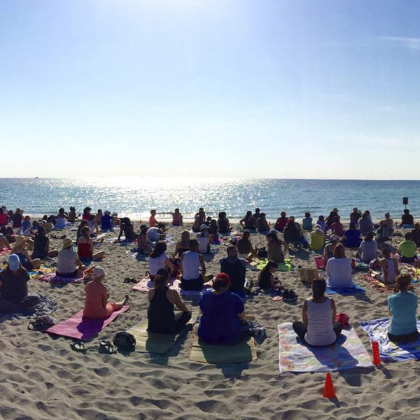See You on the Sand – FREE Oceanfront Meditation Class