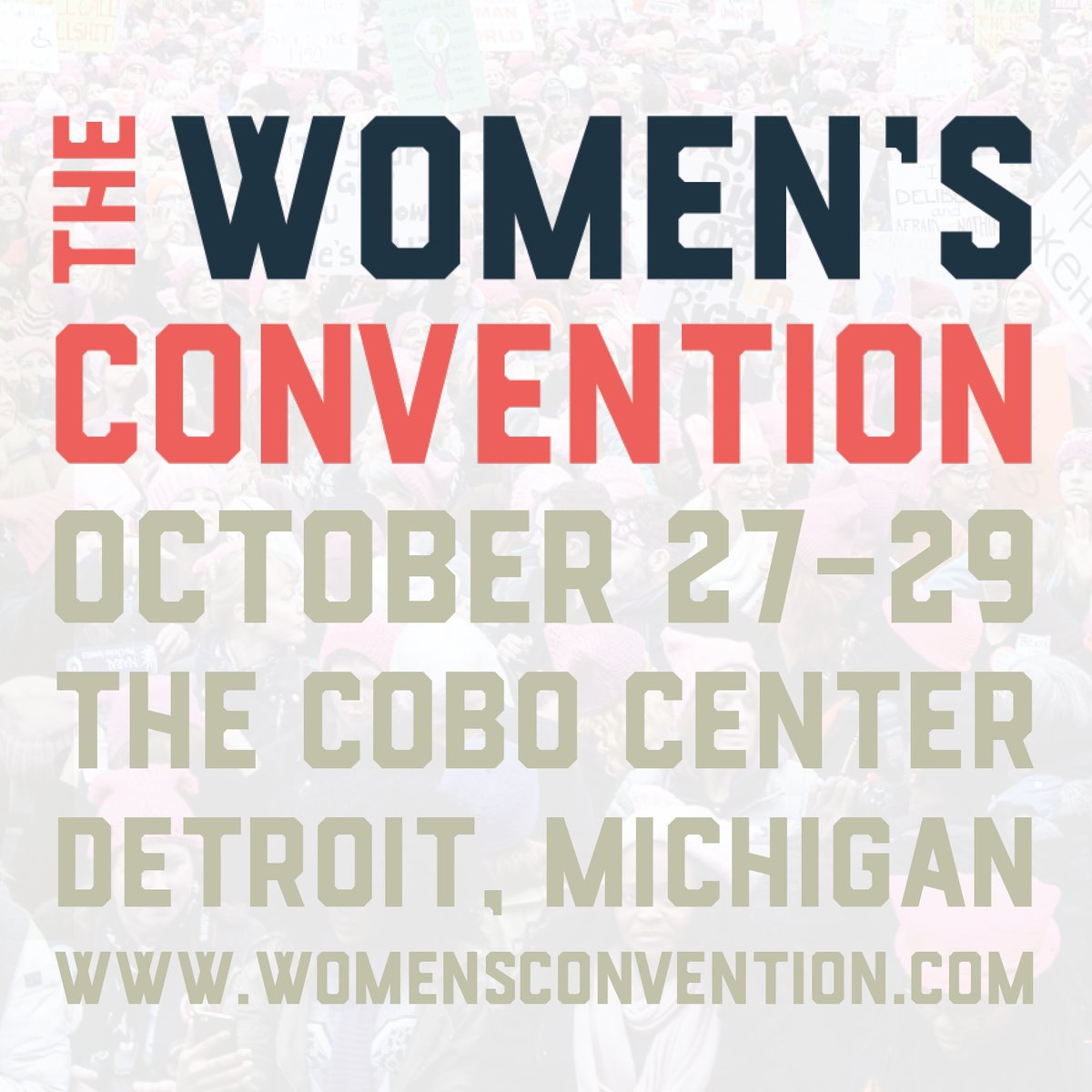Women's March: The Women's Convention