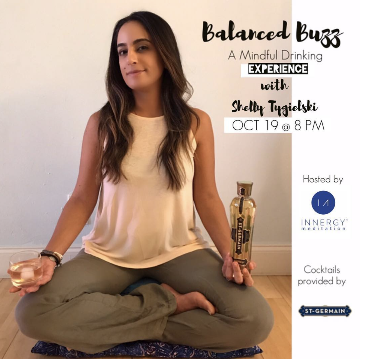 Balanced Buzz: A Mindful Drinking Workshop presented by St. Germain Liquor