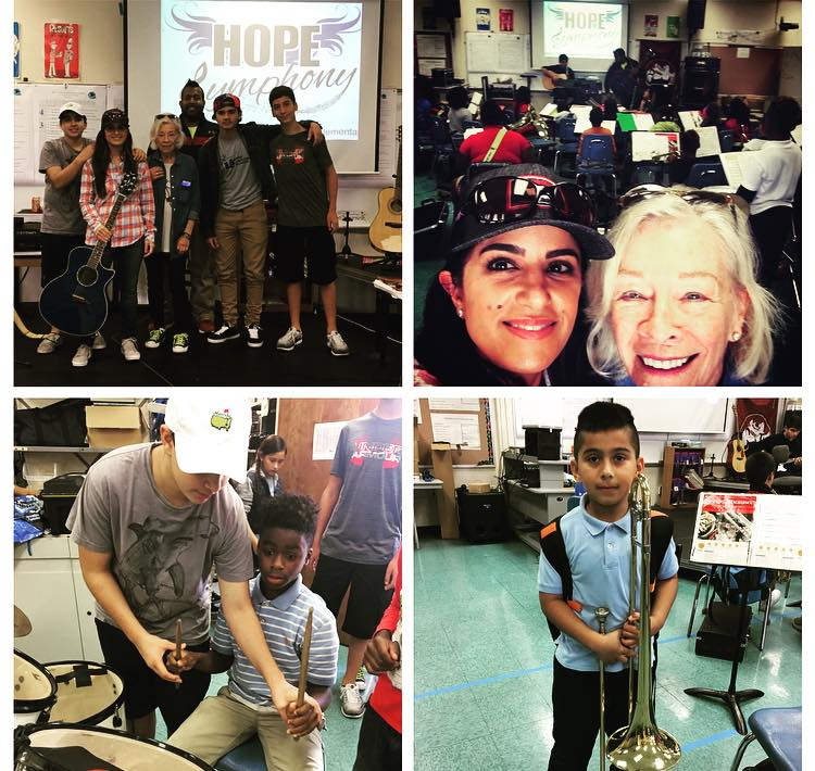 Sand Tribe Gives Back: Supports HOPE Symphony at Pahokee Middle