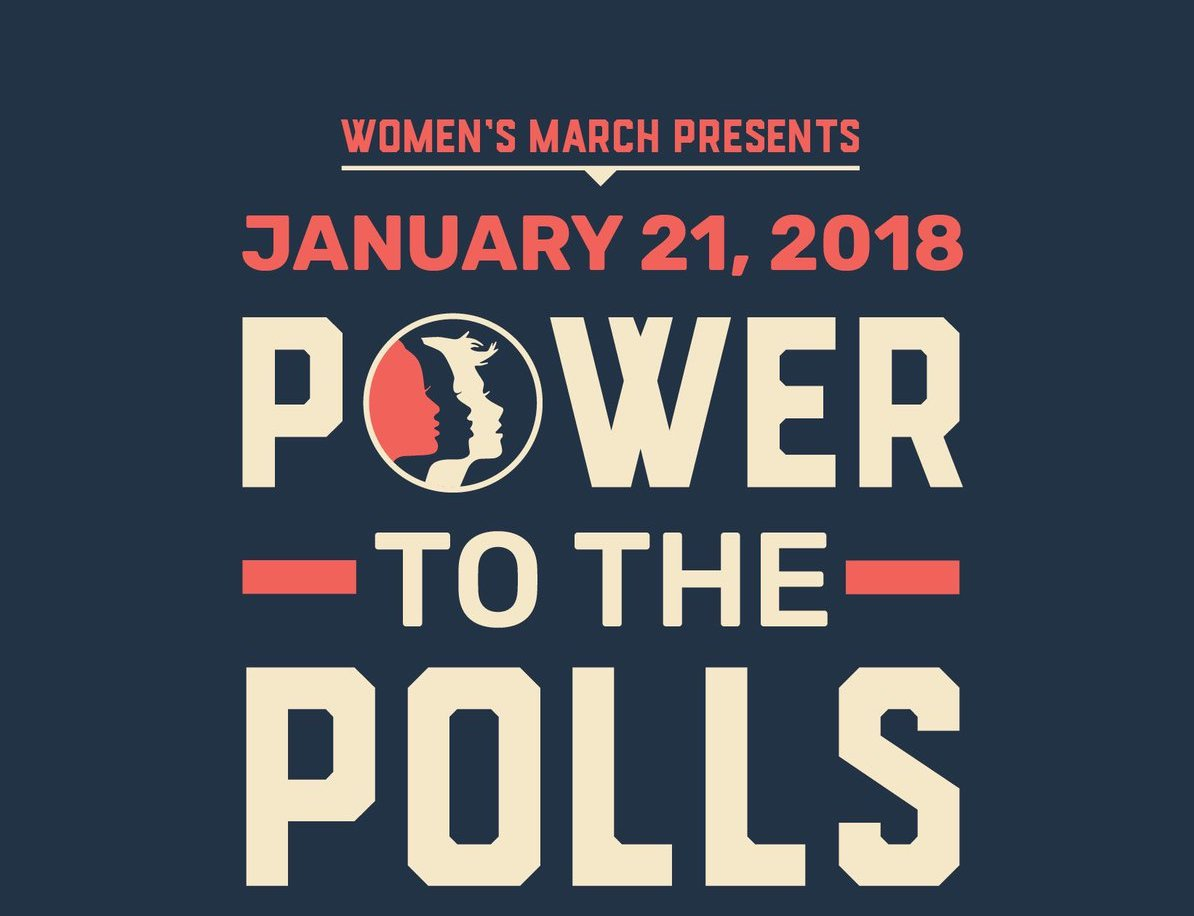Women's March First Anniversary: Power to the Polls