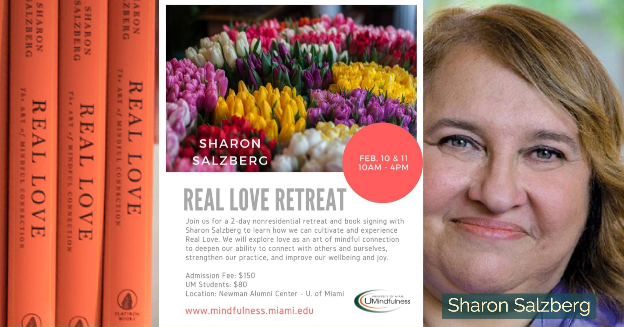 Real Love - A Nonresidential Retreat with Sharon Salzberg