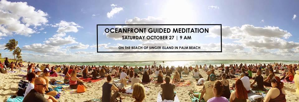 Palm Beach County: Singer Island Oceanfront Meditation Gathering