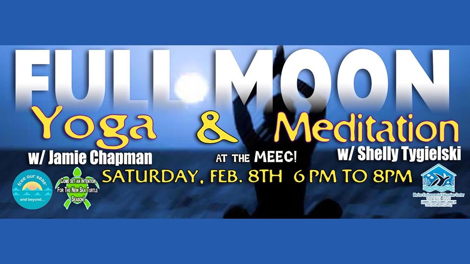 Full Moon Yoga & Meditation to Benefit MEEC and Free Our Seas & Beyond