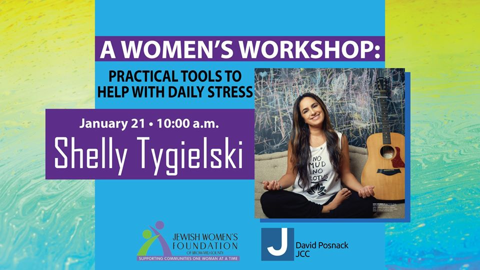 A Women's Workshop: Practical Tools to Help with Daily Stress